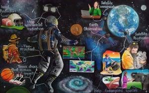 Space Achievement Art Contest